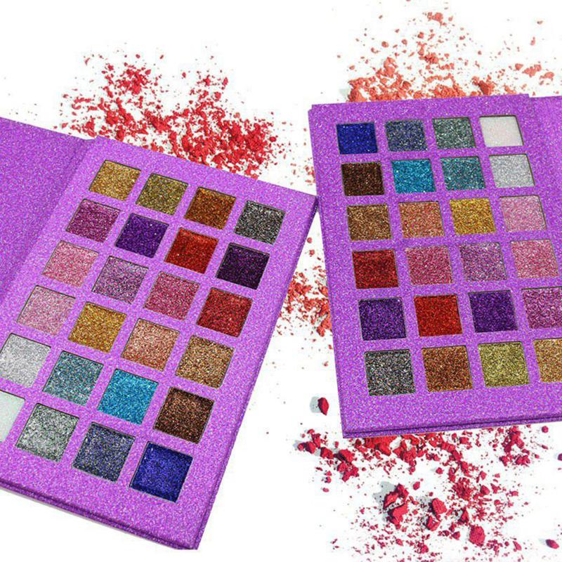 24 Colors Glitter Shimmer Eye Shadow Palette