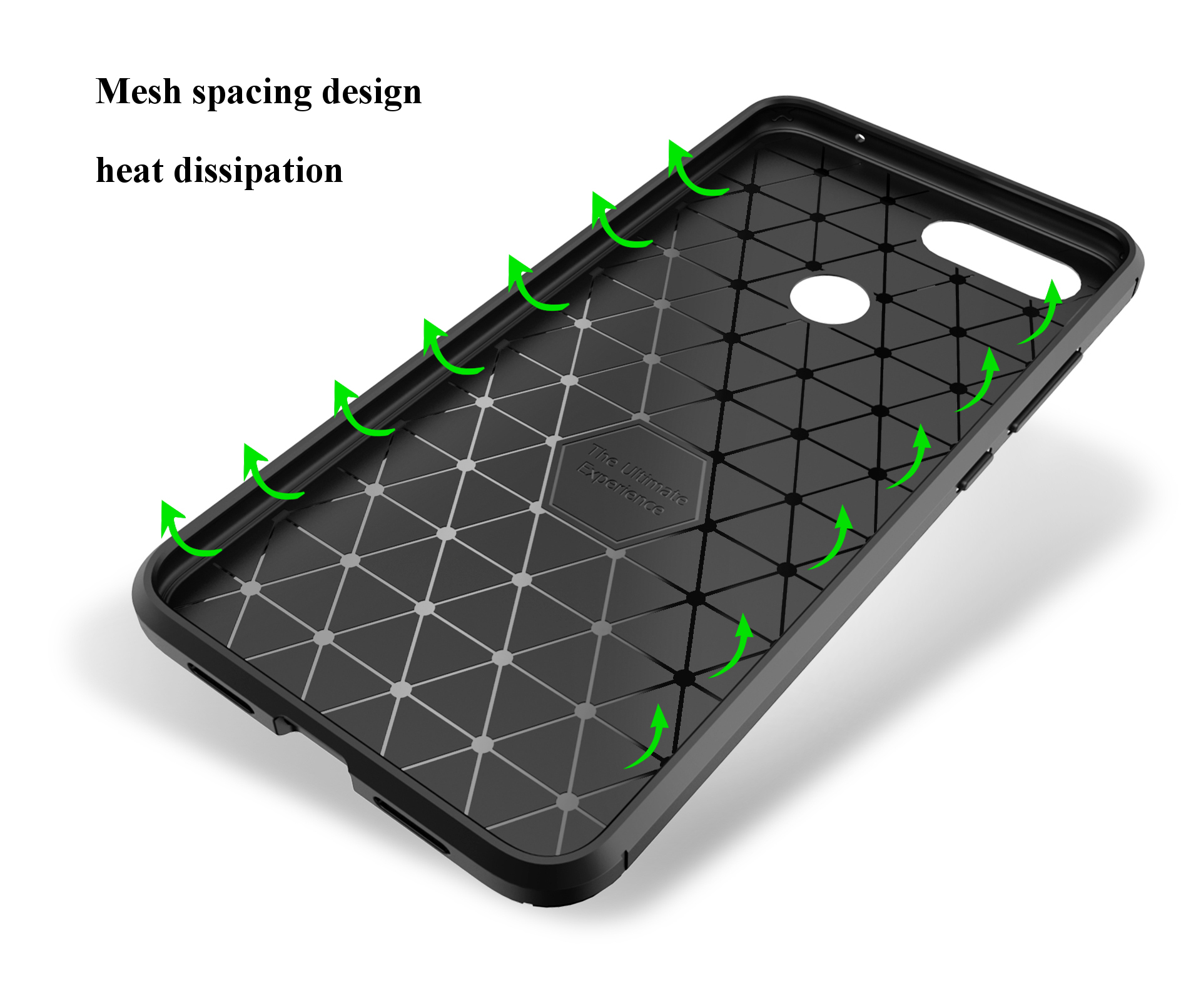Bakeey Carbon Fiber Shockproof Soft Silicone Protective Case For Xiaomi Mi 8 Lite