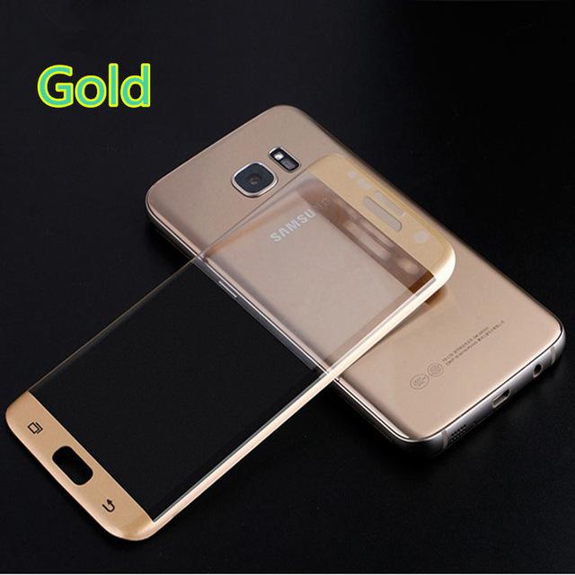 9H 3D Arc Edge Tempered Glass Film Screen Protector for Samsung Galaxy S7 Edge