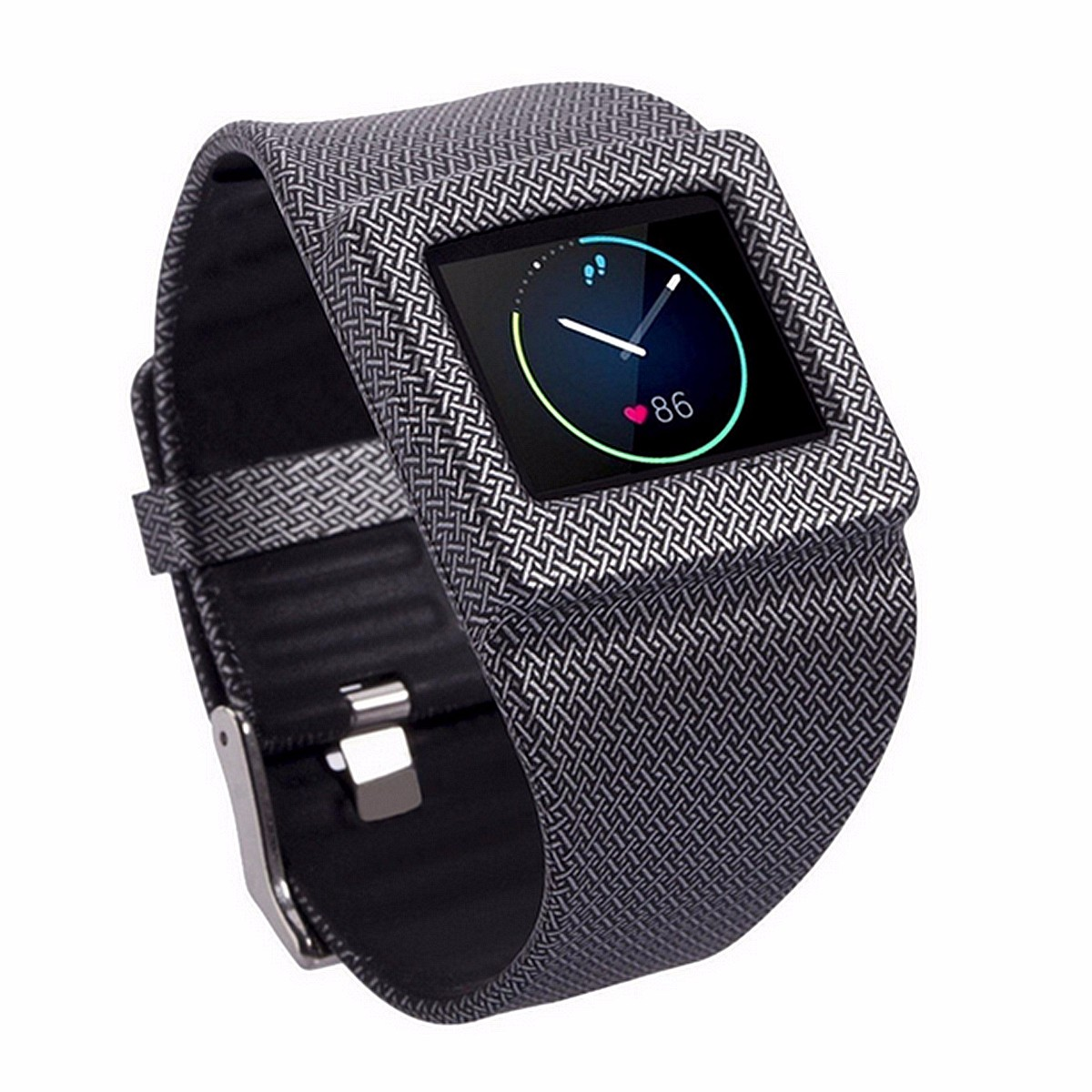 Replacement Soft Silicone Shockproof Sport Wrist Band Bracelet for Fitbit Blaze Watch