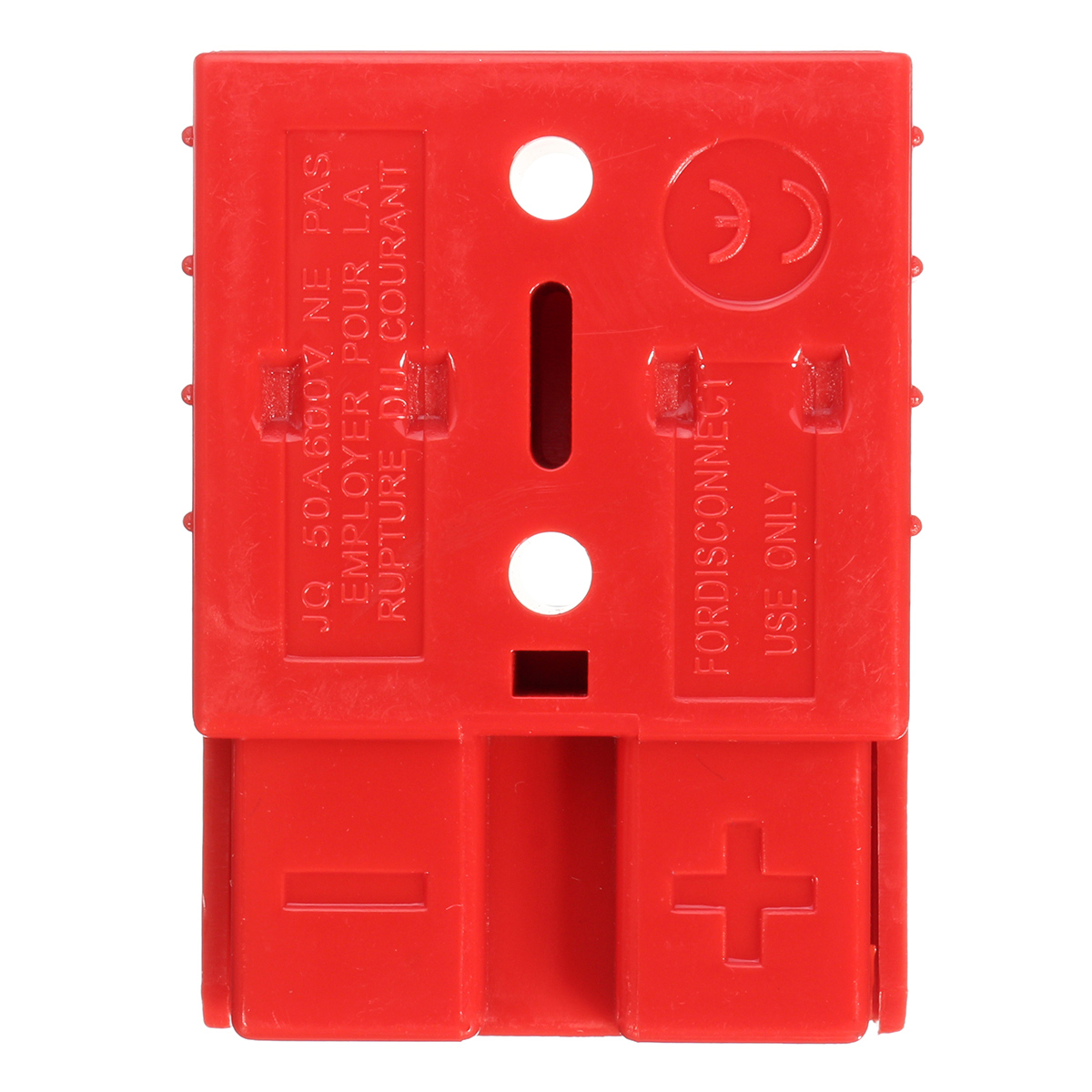 50A 8AWG Battery Quick Connector Plug Terminal Disconnect Winch Red