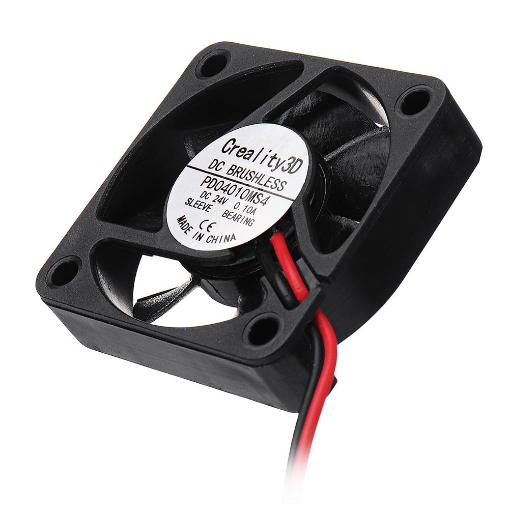 Creality 3D® 40*40*10mm 24V High Speed DC Brushless 4010 Cooling Fan For Ender-3 3D Printer