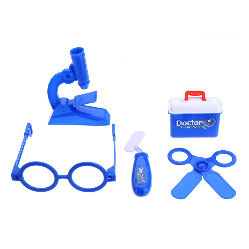 Kids Pretending Doctor's Medical Playing Set Case Children Role Play Toys Gift