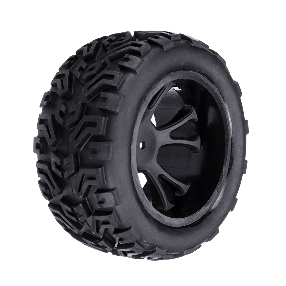 2PC Wltoys L313 1/10 2.4G 2WD Rc Car Spare Parts Front Left Right Tires No.L313-01