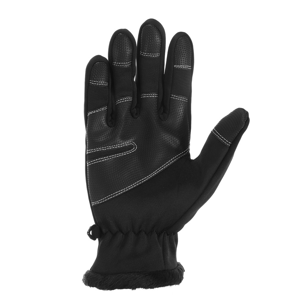 Motorcycle Cycling Winter Fleece Thermal Warm Gloves Touch Screen Windproof Waterproof