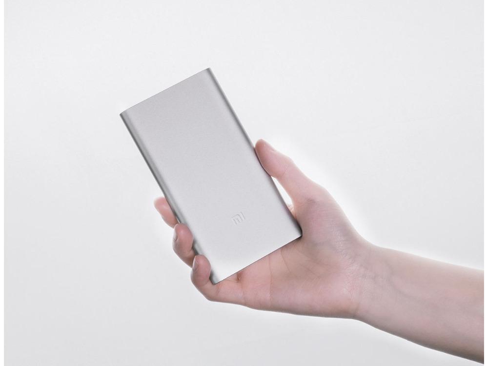 Original Xiaomi New 5000mah 2 Alloy Metal Ultra Thin Power Bank For