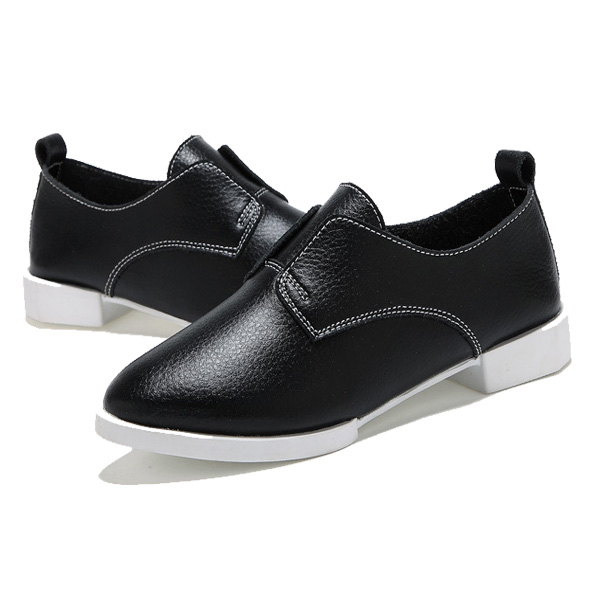 Women Casual Flats Pointed Toe Loafers Flat Driving Shoes Soft Sole Flats
