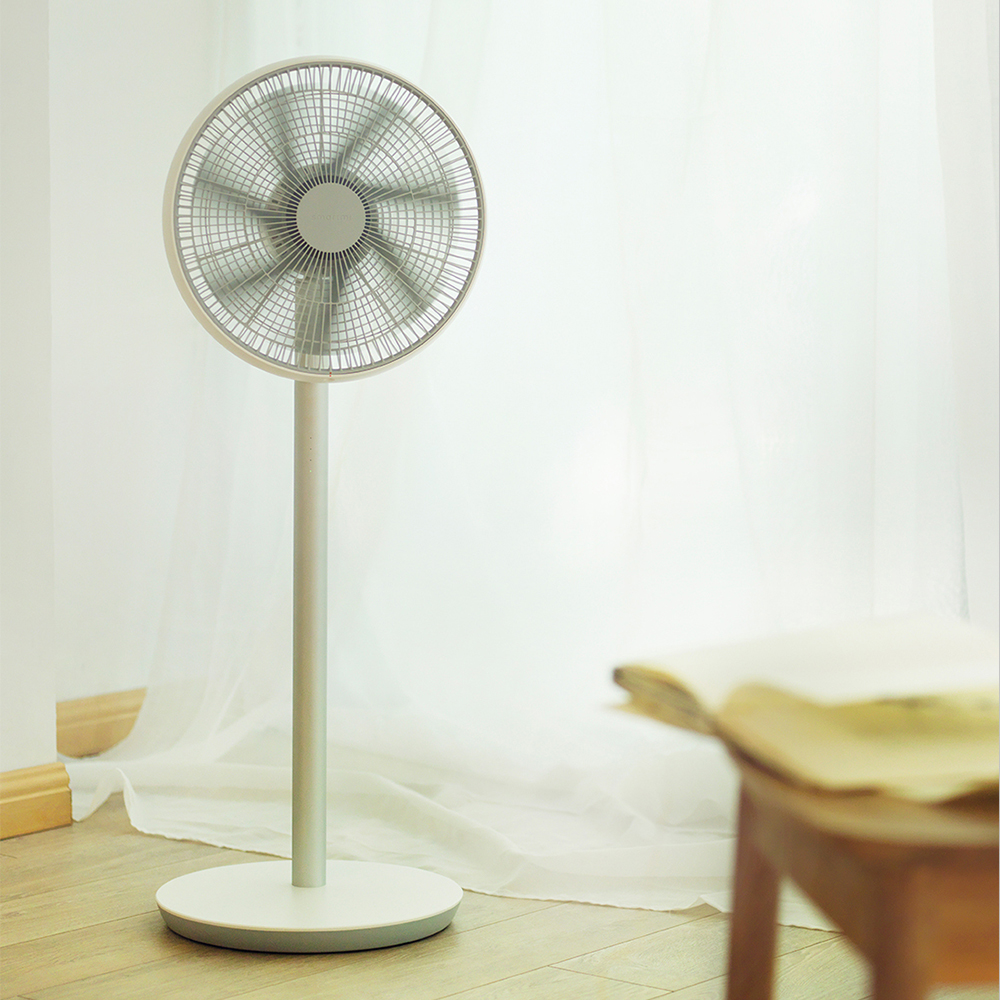 2019 New Version Xiaomi Smartmi Natural Wind Pedestal Fan 2 with MIJIA APP Control DC Frequency Fan 20W Lithium-ion Battery