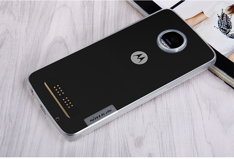NILLKIN Ultra Thin Soft TPU Transperent Back Case Cover For Motorola Moto Z Play