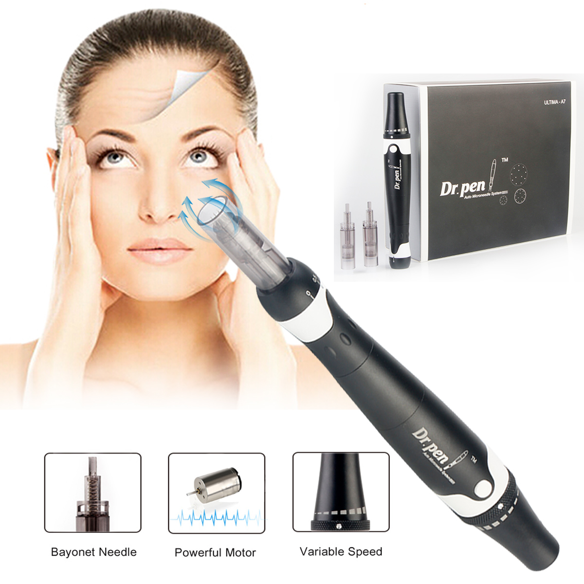Dr.Pen ULTIMA A7 Electric Derma Pen Micro Needles