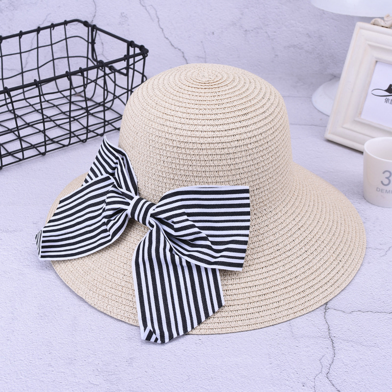Summer Sun Protection Wide Brimmed Floppy Hat
