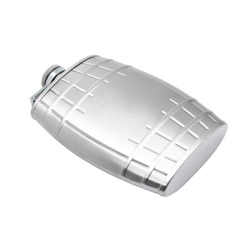 IPRee™ Outdoor 6oz Liquor Bottle Portable Stainless Steel Hip Flask Whiskey Funnel Travel Drinkware