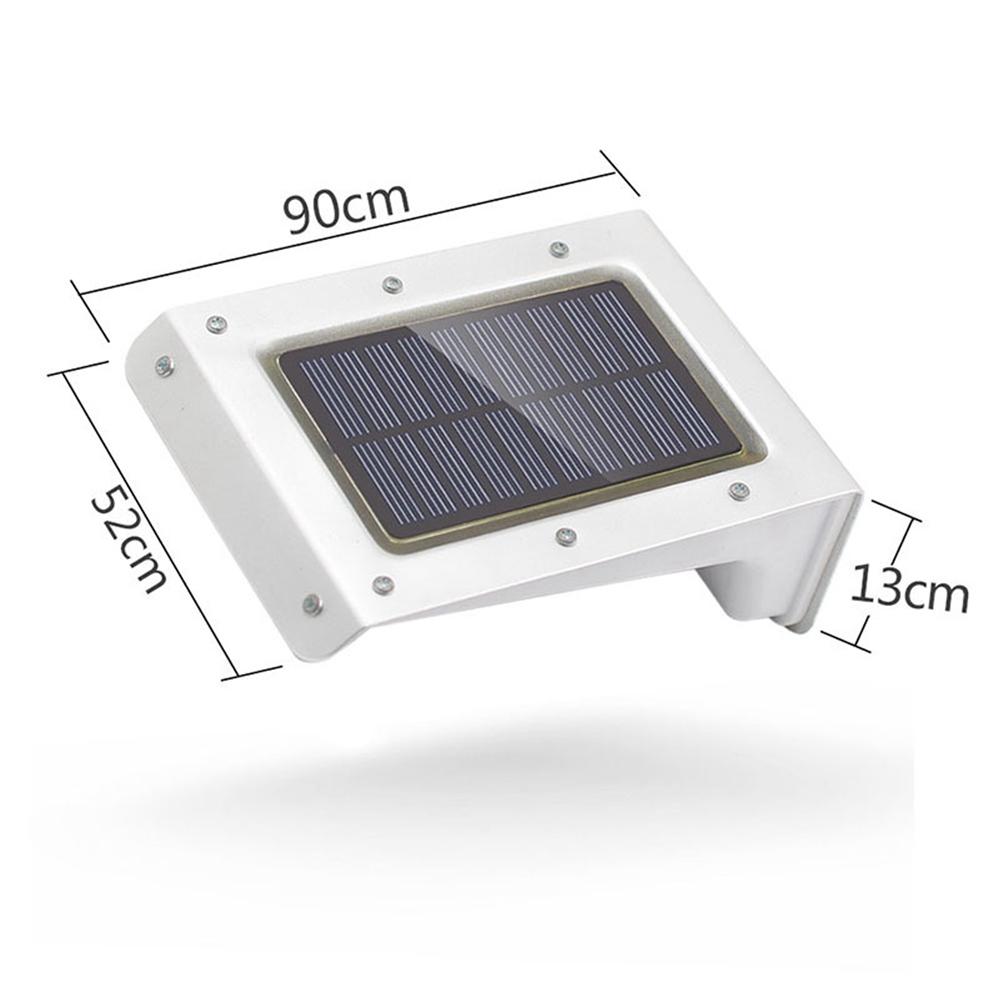 20 LED Waterproof Solar Powered Sensor Flood Light Outdoor Garden Security Wall Lamp