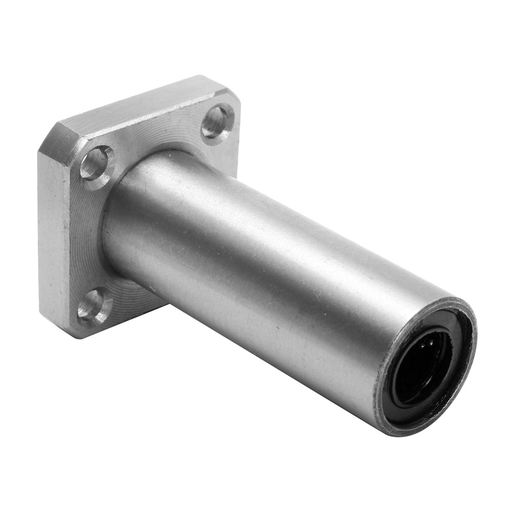 LMK8LUU 8mm Long Square Flange Type Linear Motion Ball Bearing Bushing