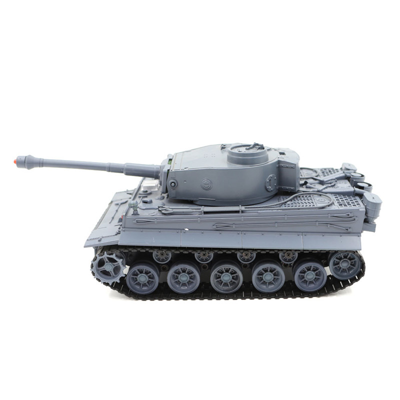 Henglong 3828 1/26 27MHZ German Tiger RC Car Battle Tank Simulated With Sound & Light Toys