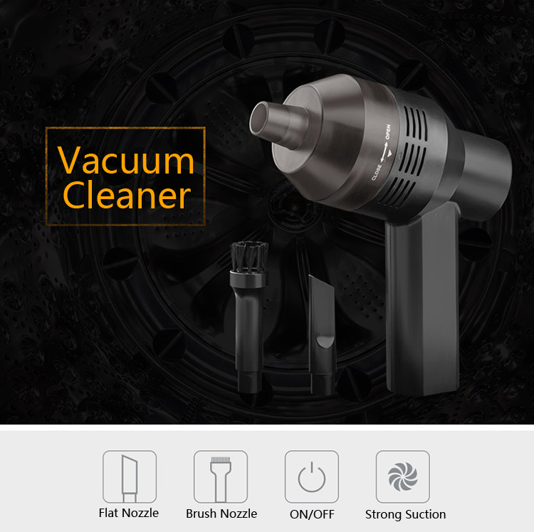 Portable USB Mini Vacuum Cleaner Computer Keyboard Dust Cleaning Brush Handheld Clean Kit