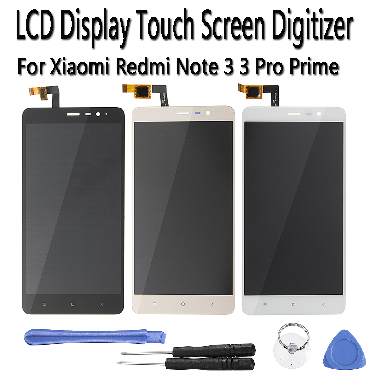 LCD Touch Screen+Touch External Screen For Xiaomi Redmi Note 3 / Note 3 Pro 5.5''