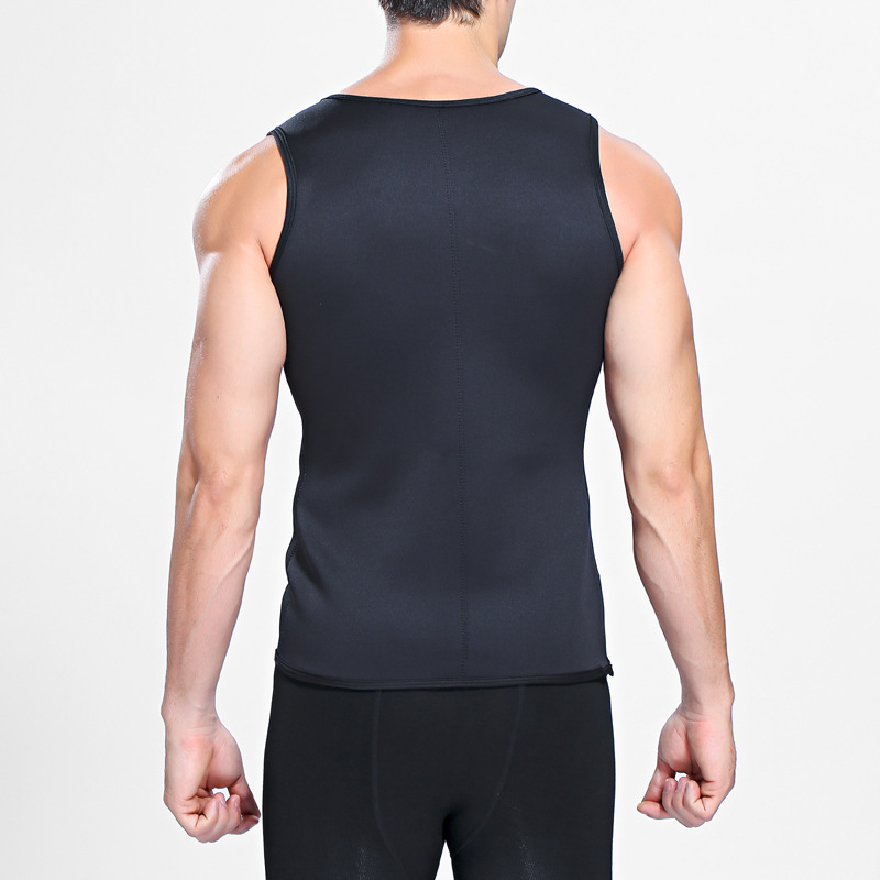 Men's Body Fitness Sport Sculpting Vest Bust Waistline Underwear