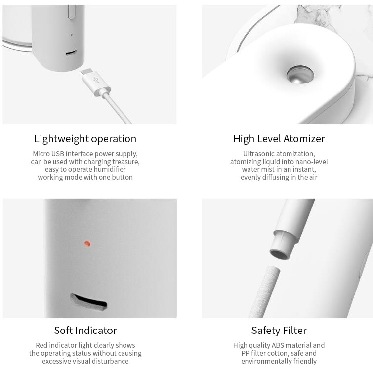 SOTHING Geometry Humidifier Electric Air Humidifier Water Nebulizer From Xiaomi Youpin