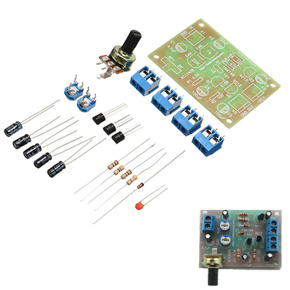 3pcs DC 3V To 6V DIY OTL Discrete Component Circuit Power Amplifier Kits Electronic Training Kits