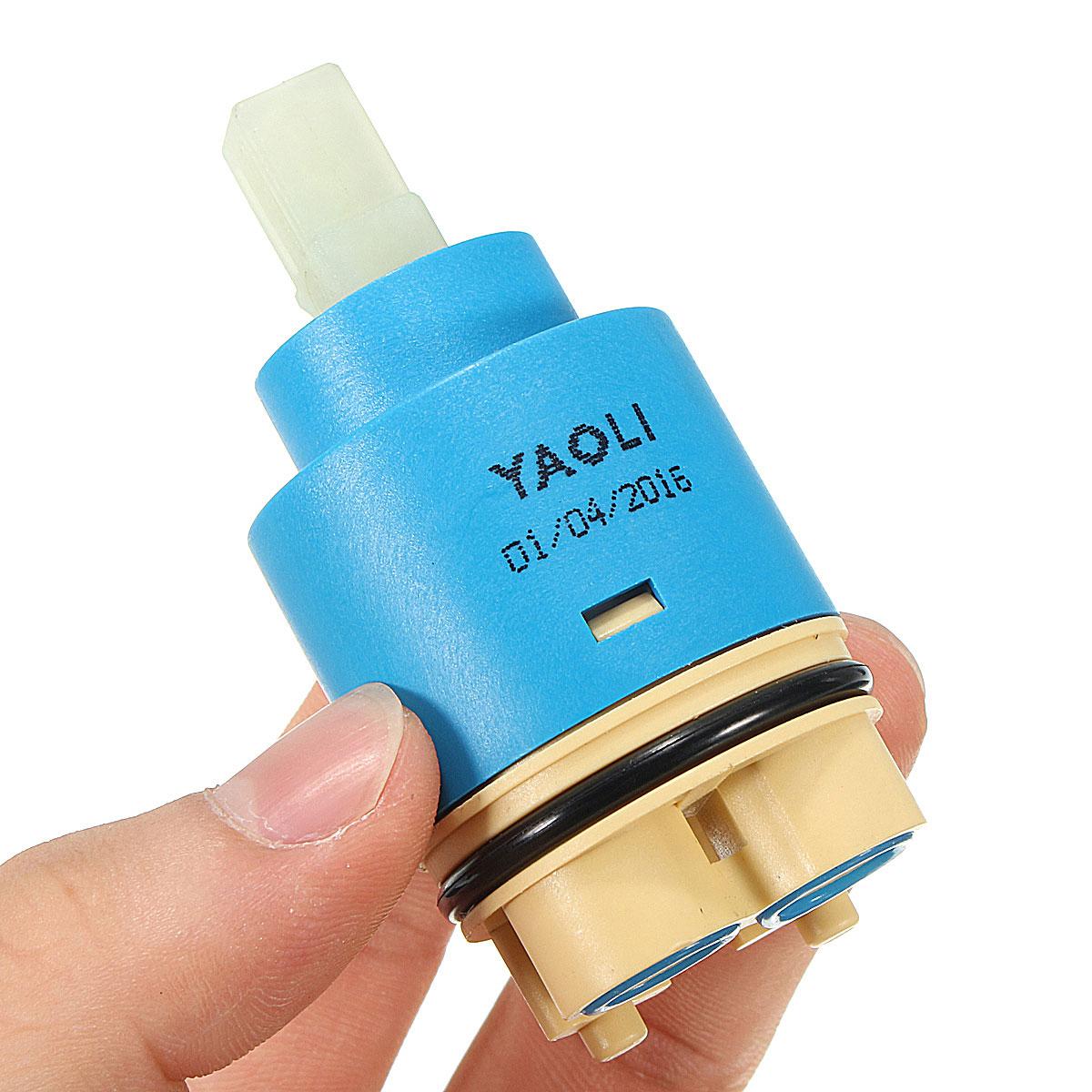35mm /25mm Foot Precision Faucet Ceramic Spool Faucet Fittings