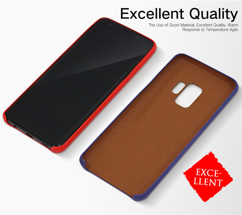 Physical Thermal Sensor Discoloration Soft TPU Case for Samsung Galaxy S9/S9 Plus