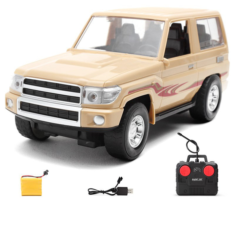 830 1/16 Wireless Controlled Simulation Rc Car Off-Road Vehicle RTR w/ LED Light Toys