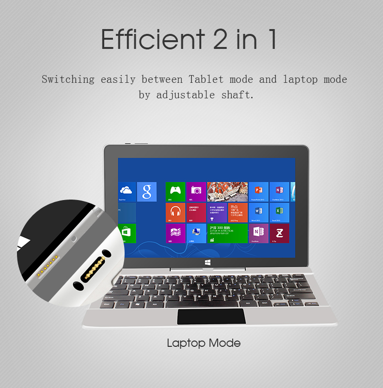 Jumper Ezpad 6 Pro Intel Apollo N3450 Quad Core 6G+64GB ROM 11.6 Inch Windows 10 Tablet