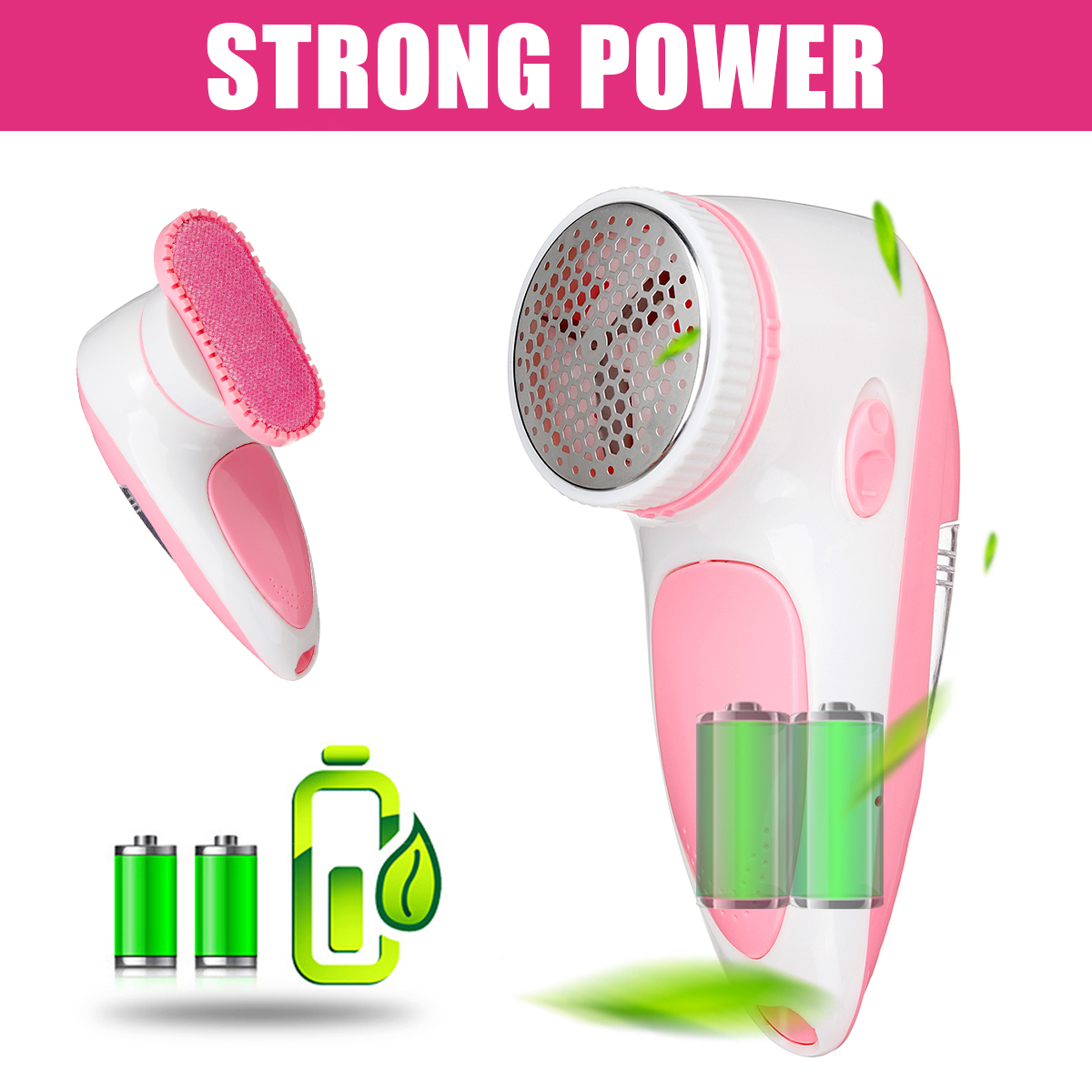 Portable Fabric Shaver Electric Lint Remover Sweater Shaver Fuzz Pill Fuzz Cashmere Wool Rechargable