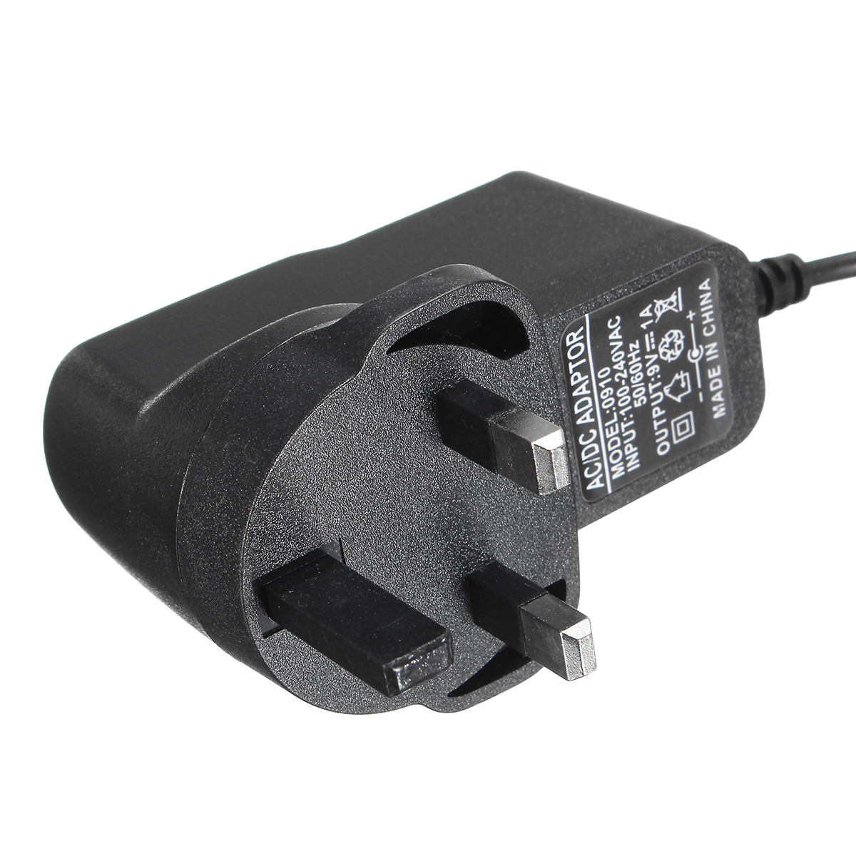 9V 1A AC-DC Adaptor Charger for Argos Bush Portable DVD Player