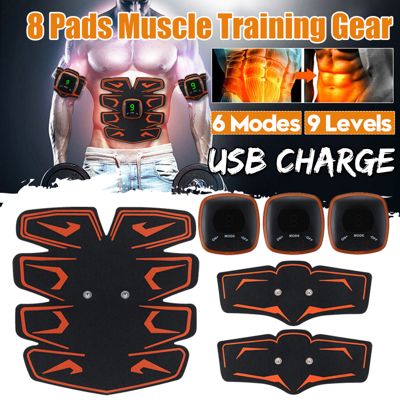 Smart Abdominal Muscle Training Body Arm Trainer 6 Modes USB