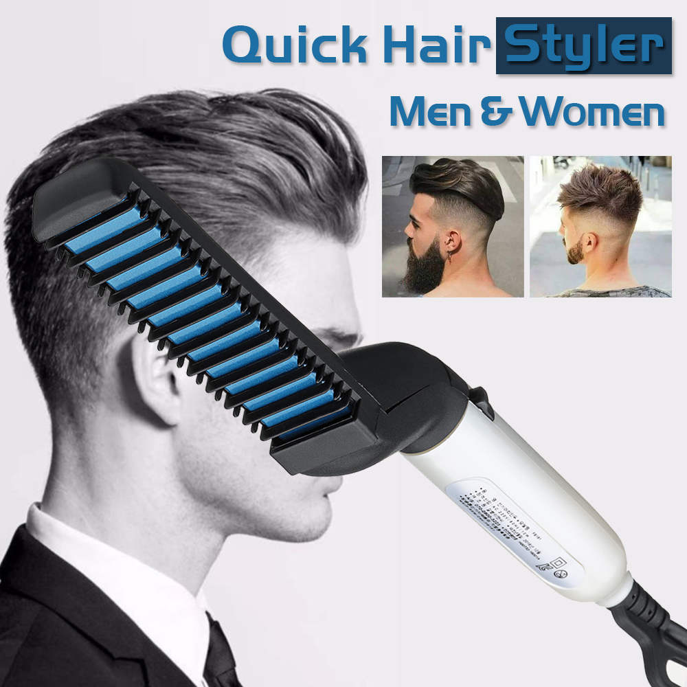 Head Massager Comb Quick Hair Styler