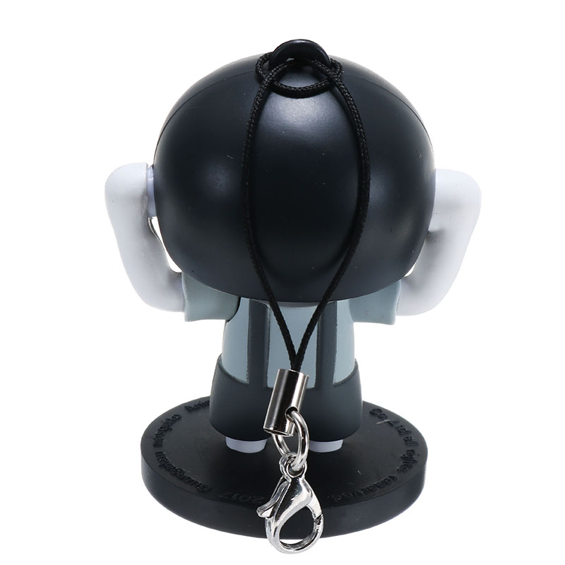 Funny Mushroom Head Expression Face Changeable Keychain Pendant Toys Kids Children Christams Gift