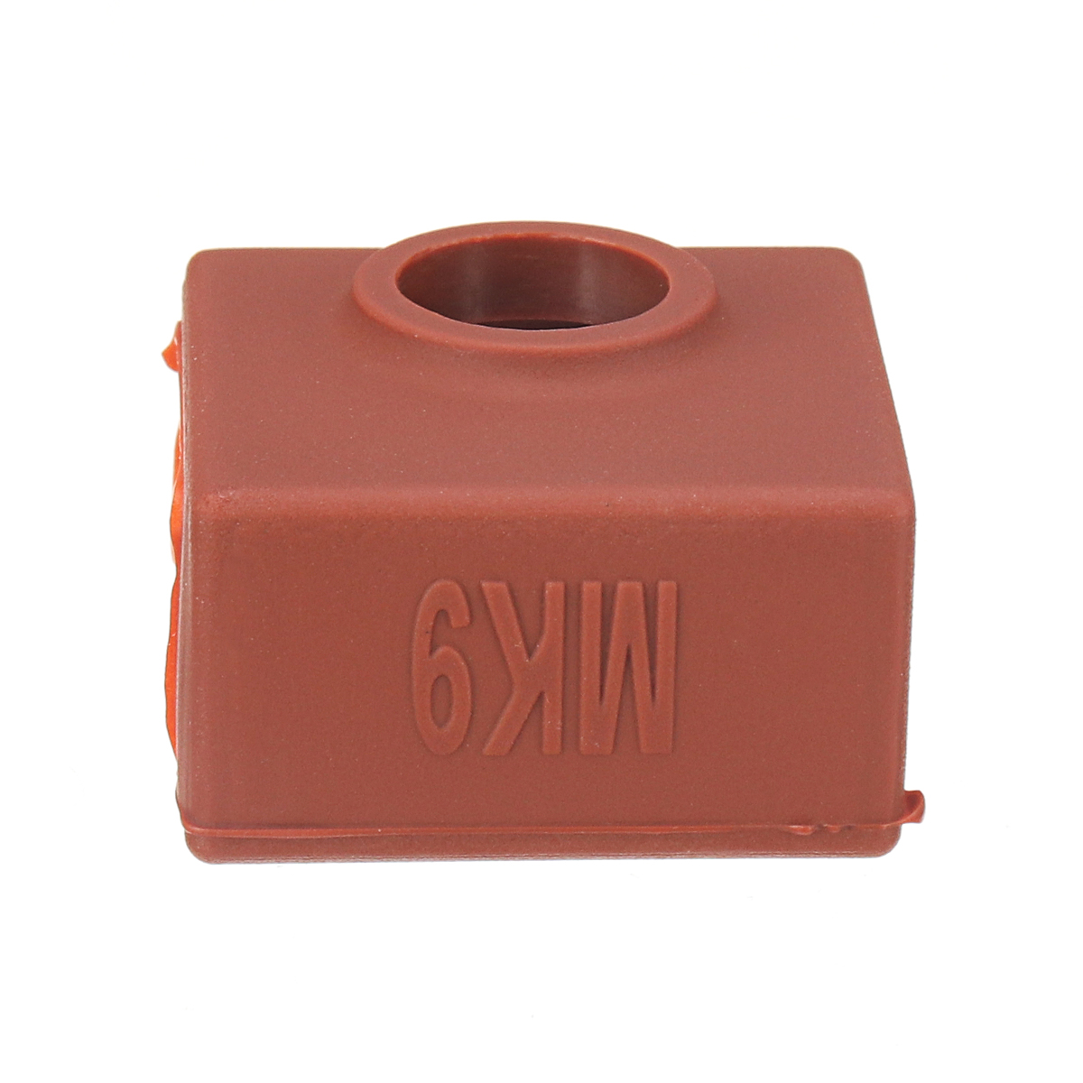 3Pcs Coffee Color MK9 Silicone Protective Case For Heating Aluminum Block 3D Printer Part Hot End