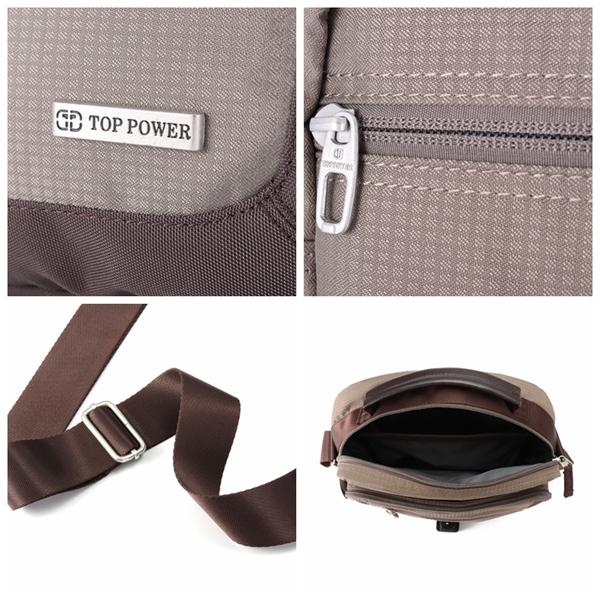 Men Business Shoulder Messenger Bag Crossbody Bag Work Bag for Ipad