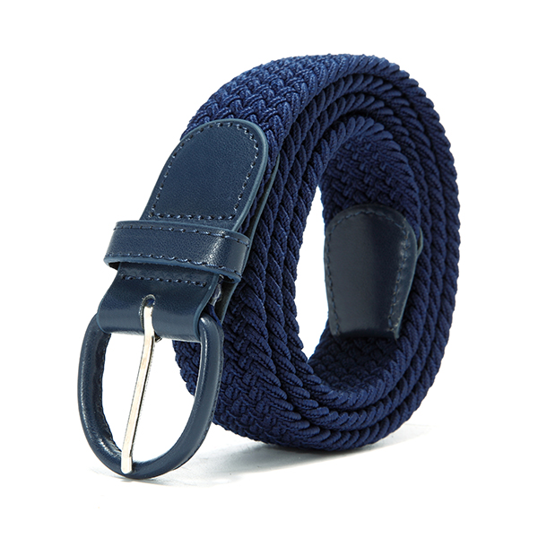 Unisex Mens Women Stretch Elastic Belt Fashion Alloy Pin Buckle Belt Waistband Pants Strip