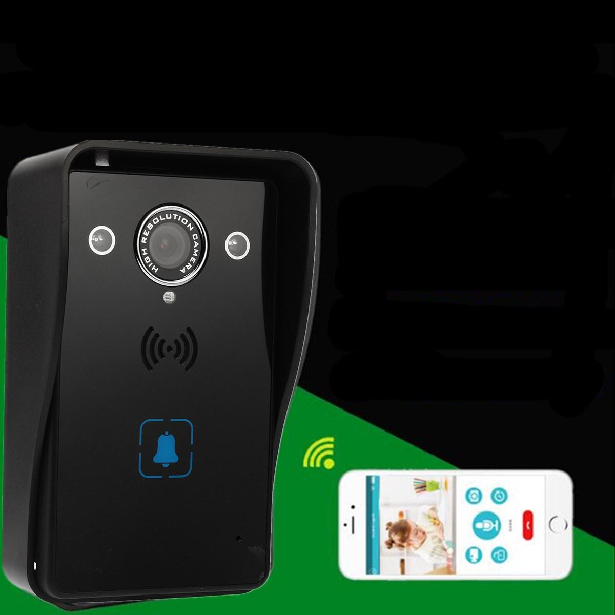 Wireless WiFi Video Door Bell Phone Doorbell Remote Phone Intercom IR Night Vision