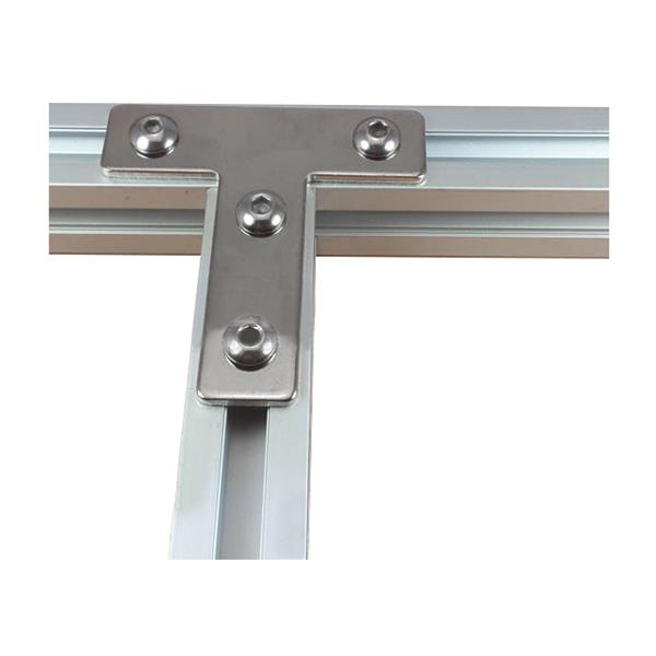 Machifit 3030T T Shape Corner Connector Connecting Plate Joint Bracket for 3030 Aluminum Profile