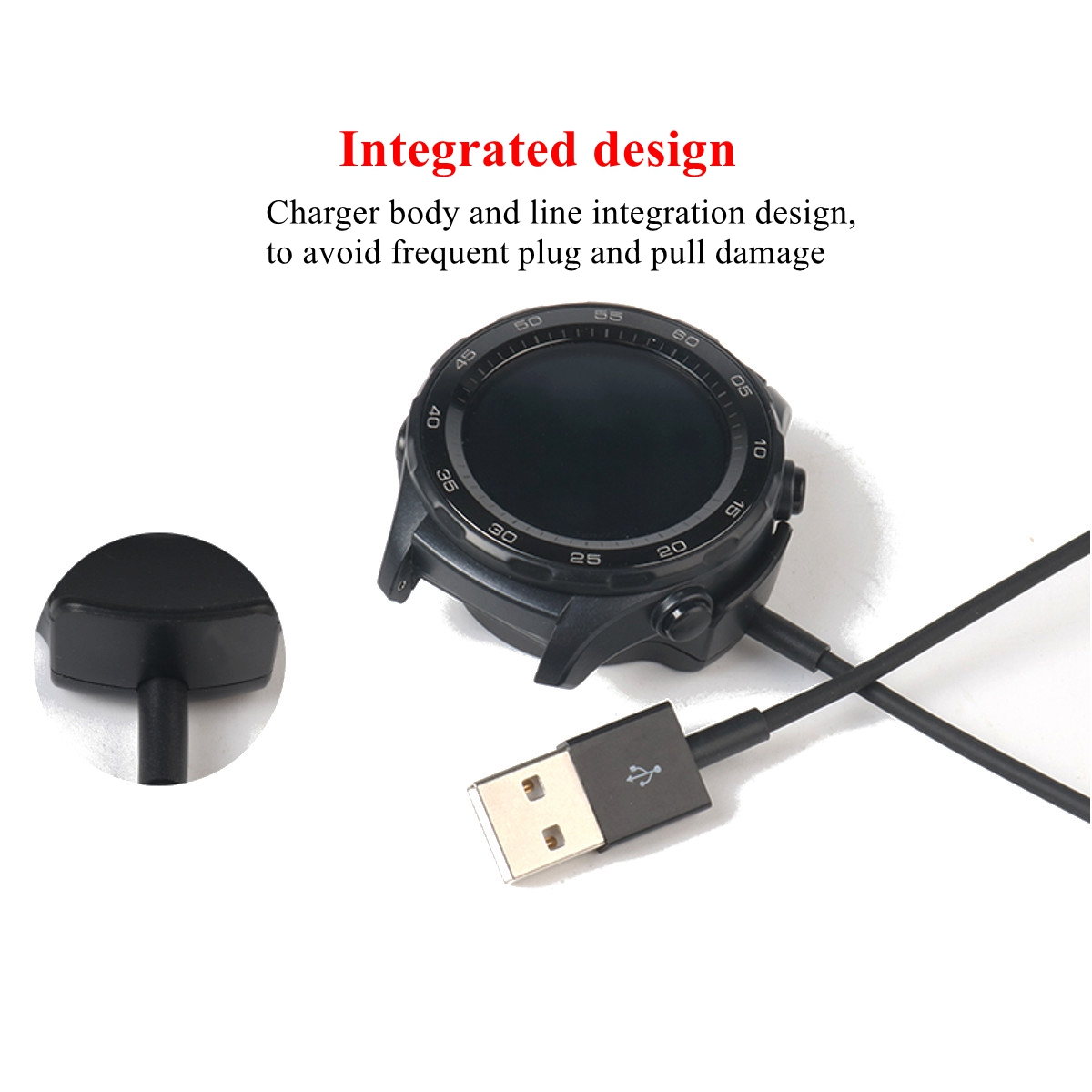 Replacement Portable Desktop Qi Wireless Dock Stations Charger for Huawei Watch 2