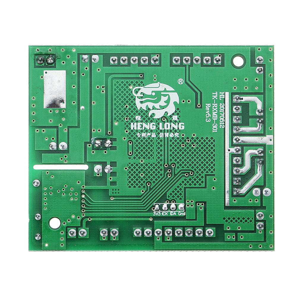 Henglong 2.4G Version-5.3 6*4*1cm Receiver Board For 1/16 Rc Smoking Tank Parts No.TK-EC001B