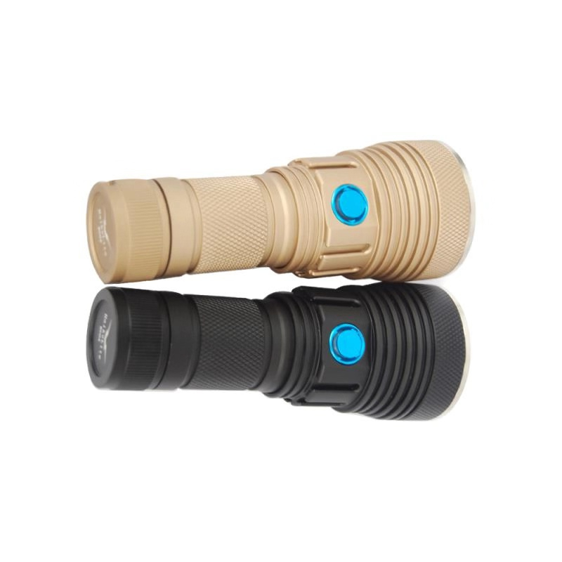 Haikelite SC04 SST20W 5000Lumens Mode Set Brightness 1x26650/ 2x26350 / 2x26650 Flashlight