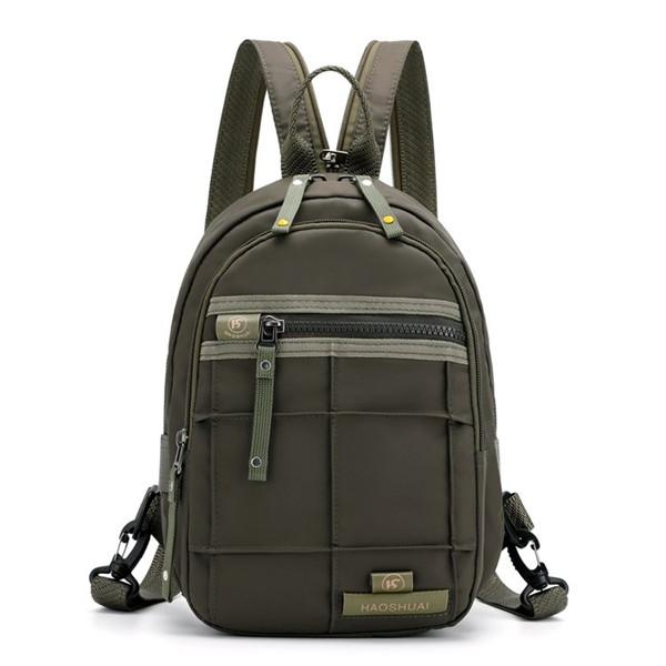 Men Multi-function Nylon Waterproof Backpack