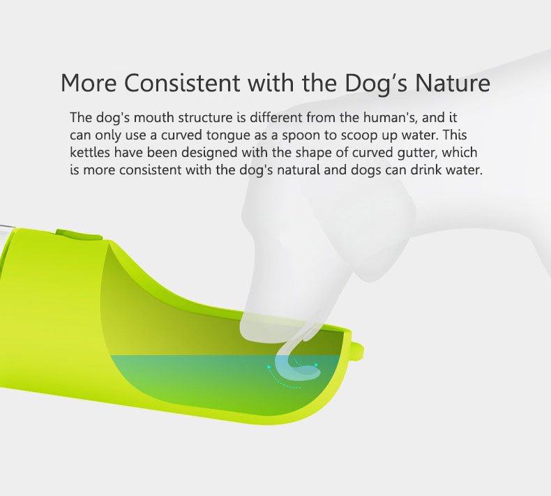 Pet Travel Portable Water Dispenser Bottles Travel Feeding Bowl Outdoor Pet Dog Filtrate Kettle