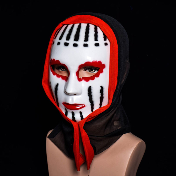 Halloween Ghost Mask Adult Scream Costume Party Mask Creepy Scary Faceless Vampire Masks