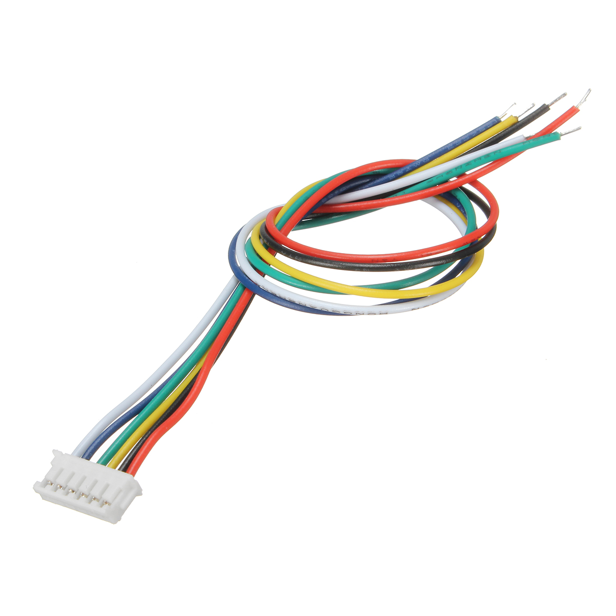 Excellway® Mini Micro JST 1.5mm ZH 6-Pin Connector Plug and Wires Cables 15cm 10 Set