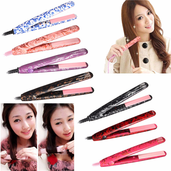 Elegant Hair Straightener Curlers Blow Dryer Waver Flat Iron Ceramic Styling Tools