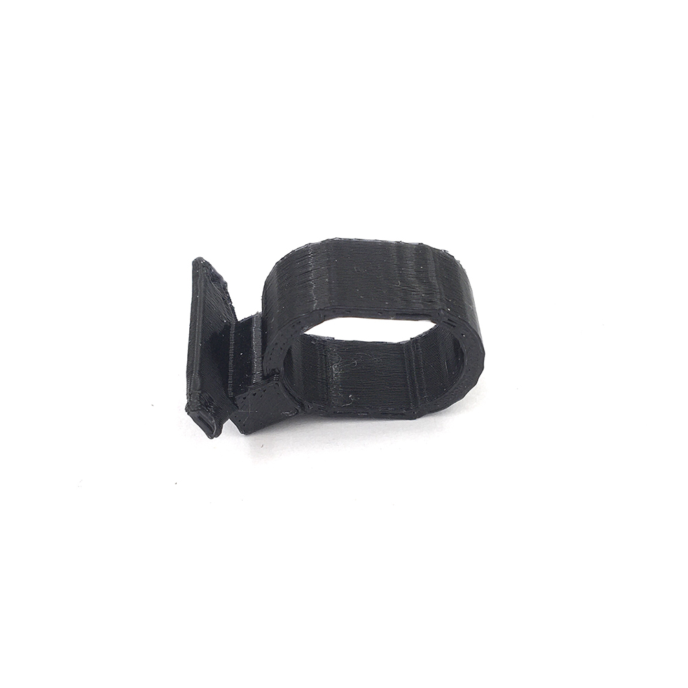 3D-Printed TPU Inclined Camera Mount 30 Degree Protective Black Case Holder for OSMO Action Camera Accessories RC FPV Racing Drone