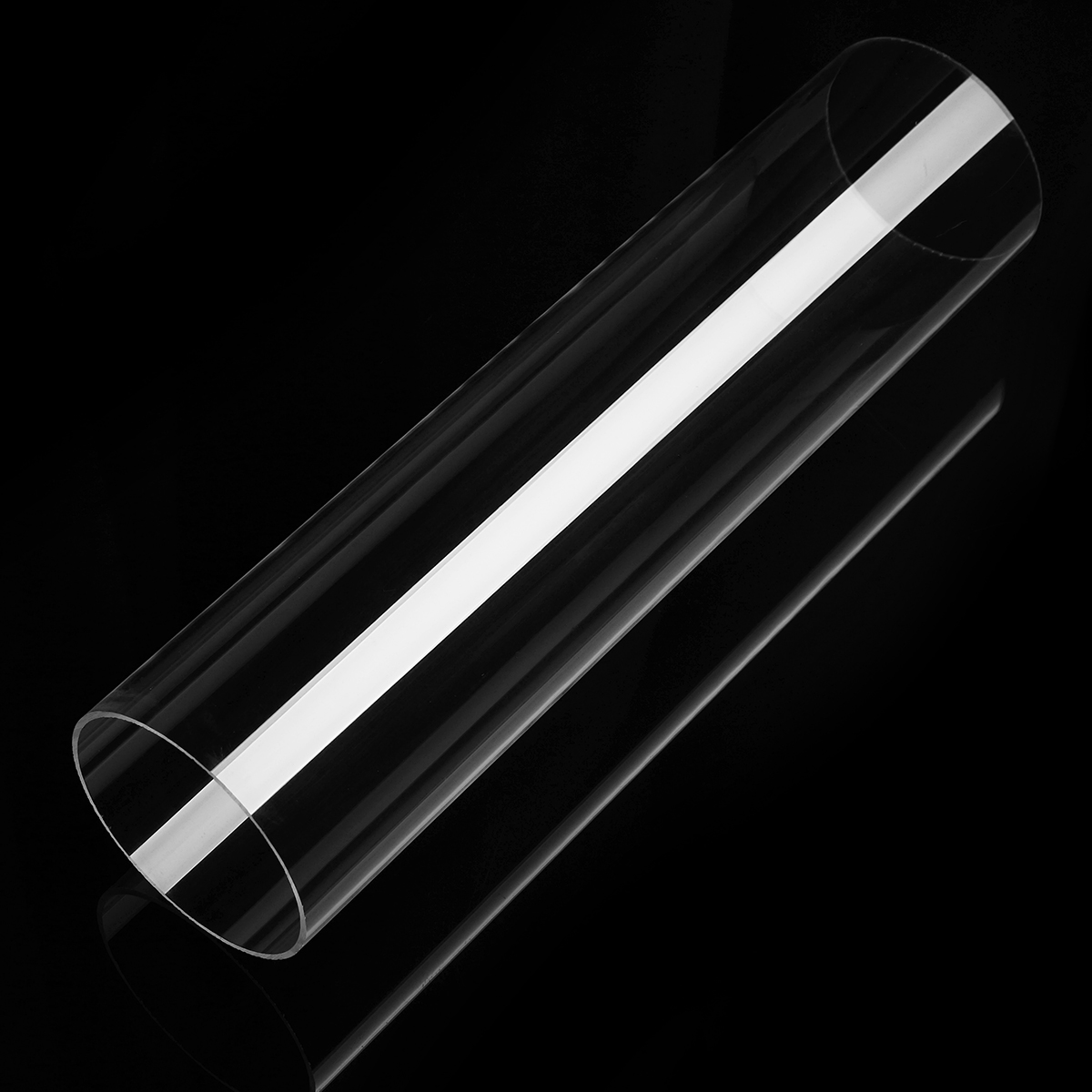 Clear Acryclic Lucite Tube Pipe Round Acryclic Tube 30cm Length