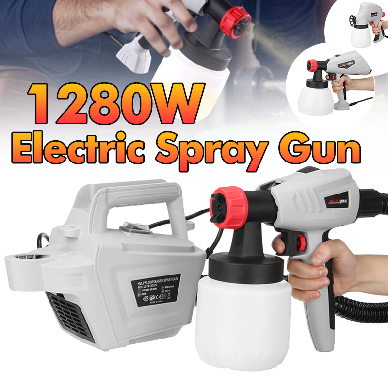 220-240V 50/60Hz Removable High Pressure Electric Paint Spray G un Cake Chocolate Spray G un Paint Airbrush Spraying DIY Tools