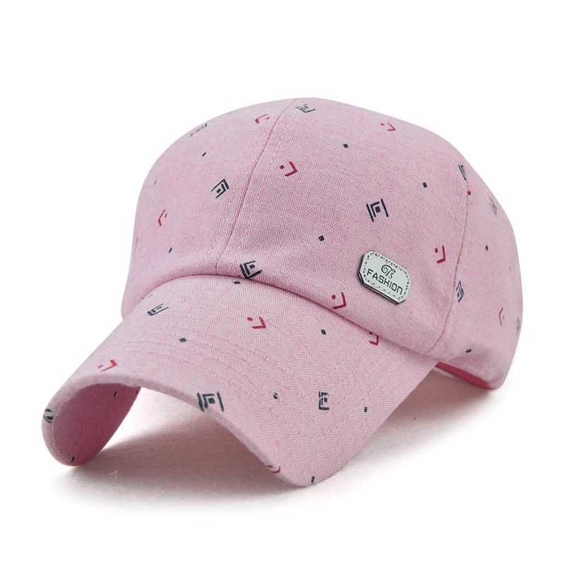 Men Women Spring Vogue Canvas Peaked Hats